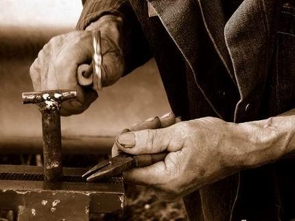 Mani lavoratore pensione